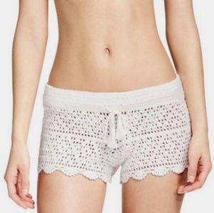 Tory Burch Crochet Amalfi Shorts Large